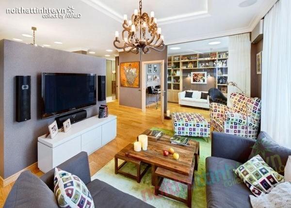 Thiết kế nội thất chung cư ở Kiev - Ukraina 01