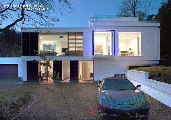 Thiết kế nội thất biệt thự White Lodge 09