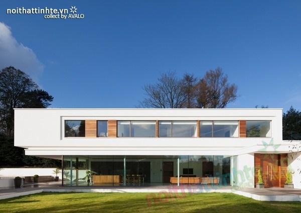 Thiết kế nội thất biệt thự White Lodge 02