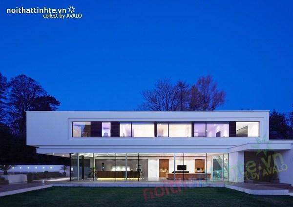 Thiết kế nội thất biệt thự White Lodge 04