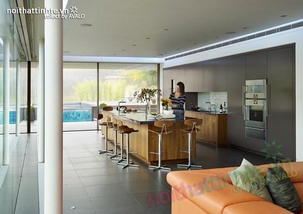 Thiết kế nội thất biệt thự White Lodge 06