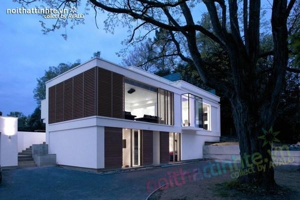 Thiết kế nội thất biệt thự White Lodge 08