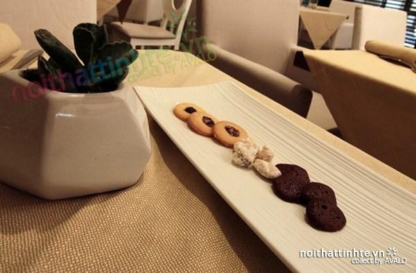 Thiết kế nội thất nhà hàng thanh lịch Marchi 01