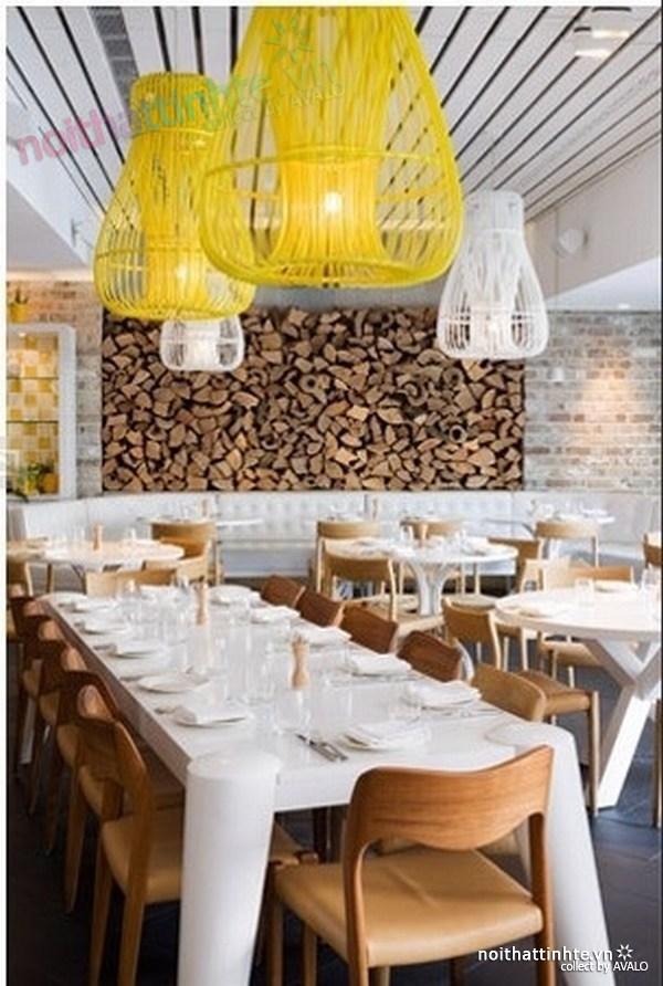 Thiết kế nội thất nhà hàng thanh lịch Marchi 06