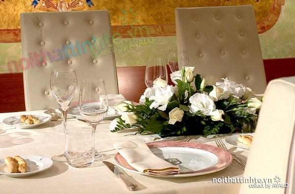 Thiết kế nội thất nhà hàng thanh lịch Marchi 07