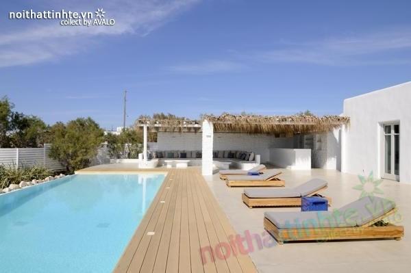 Mẫu nhà đẹp 1 tầng ở Paros - Hy Lạp 01