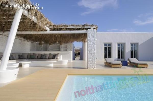 Mẫu nhà đẹp 1 tầng ở Paros - Hy Lạp 03
