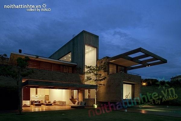Mẫu nhà đẹp 2 tầng ở Quinta 07