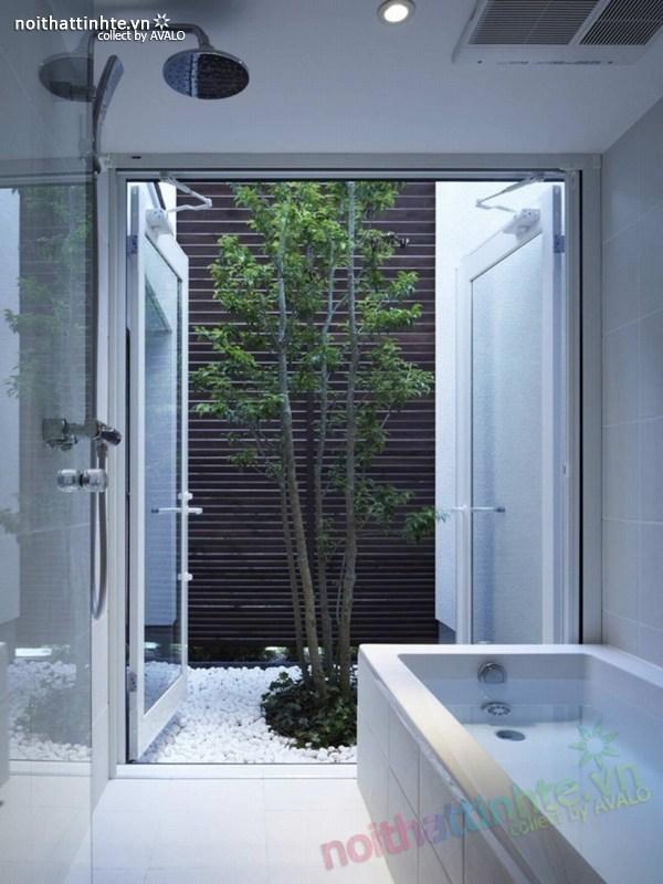 Nhà đẹp 3 tầng màu đen ở Nhật Bản 05