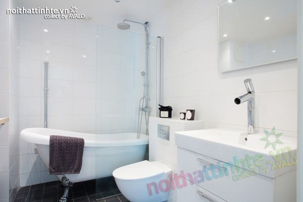 Thiết kế nội thất chung cư 70m2 phong cách Bắc Âu 09