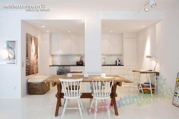 Thiết kế nội thất chung cư 70m2 phong cách Bắc Âu 03