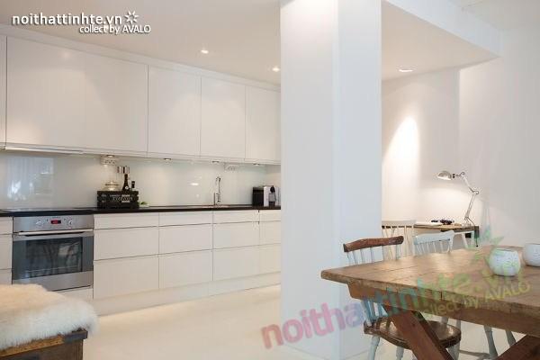 Thiết kế nội thất chung cư 70m2 phong cách Bắc Âu 04
