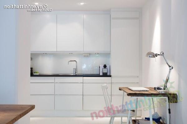 Thiết kế nội thất chung cư 70m2 phong cách Bắc Âu 05