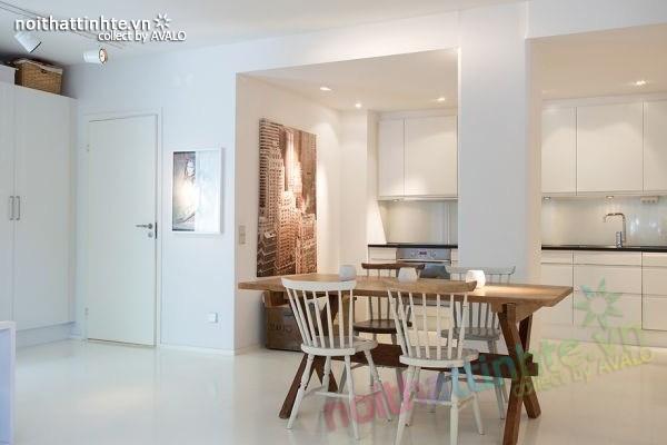 Thiết kế nội thất chung cư 70m2 phong cách Bắc Âu 06