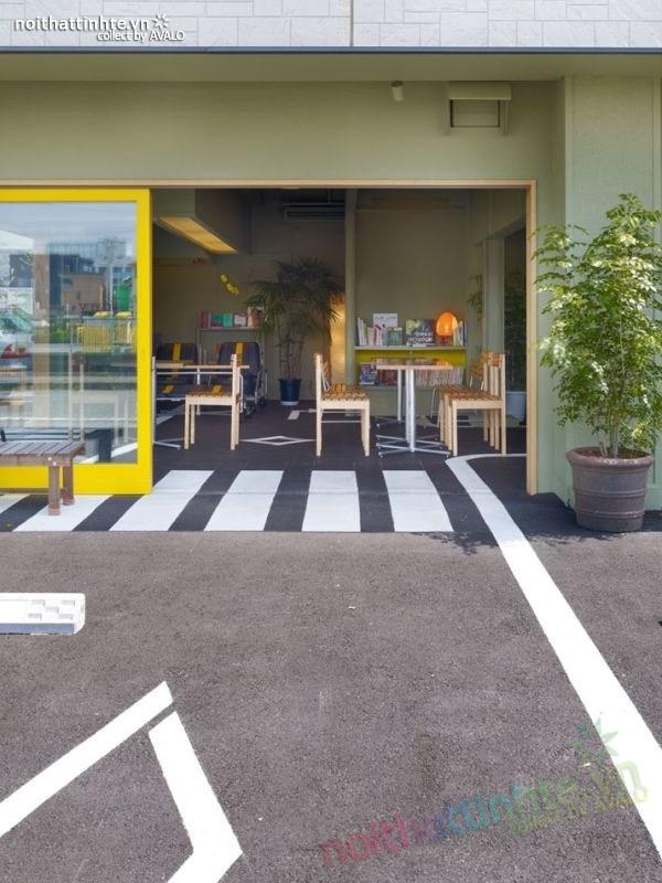 Quán cafe đẹp ở Nhật Bản 01