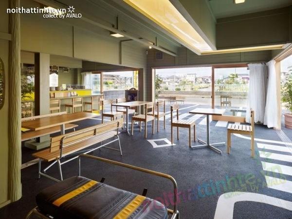 Quán cafe đẹp ở Nhật Bản 02