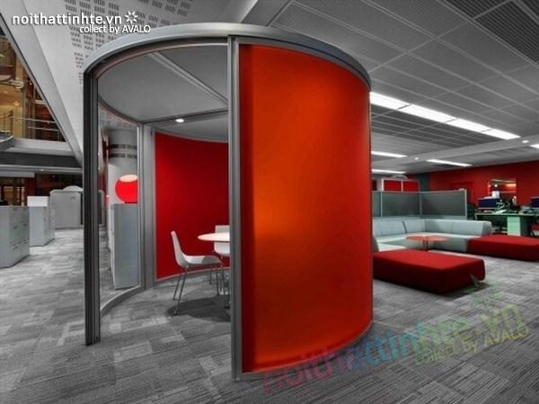 Thiết kế văn phòng hãng thông tấn BBC 09
