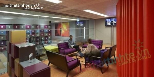 Thiết kế văn phòng hãng thông tấn BBC 10