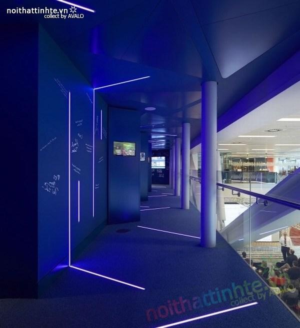 Thiết kế văn phòng hãng thông tấn BBC 01