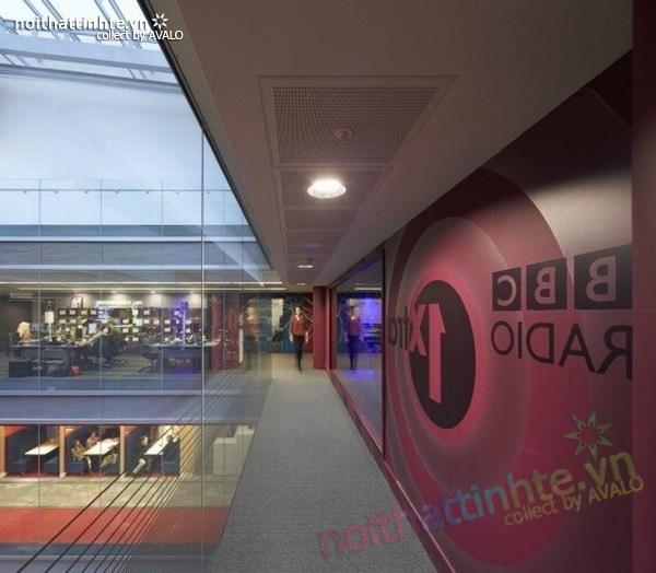 Thiết kế văn phòng hãng thông tấn BBC 02