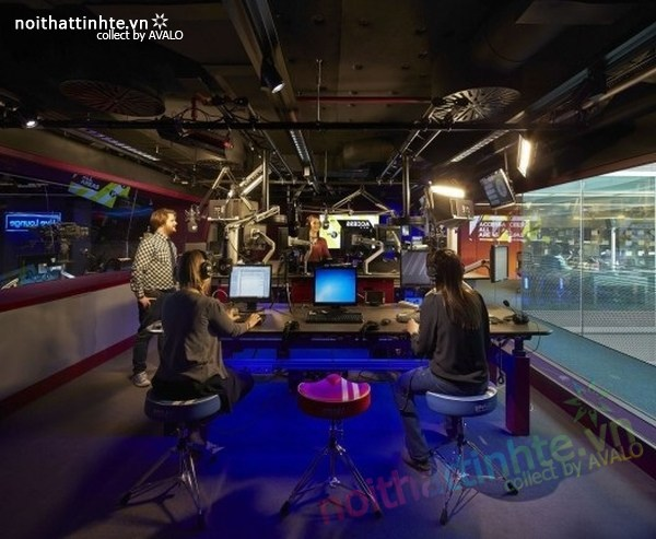 Thiết kế văn phòng hãng thông tấn BBC 06