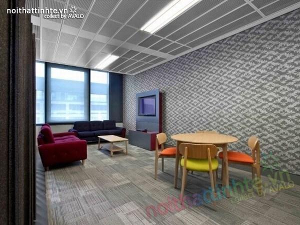 Thiết kế văn phòng hãng thông tấn BBC 07