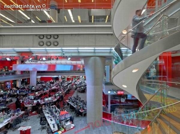 Thiết kế văn phòng hãng thông tấn BBC 08