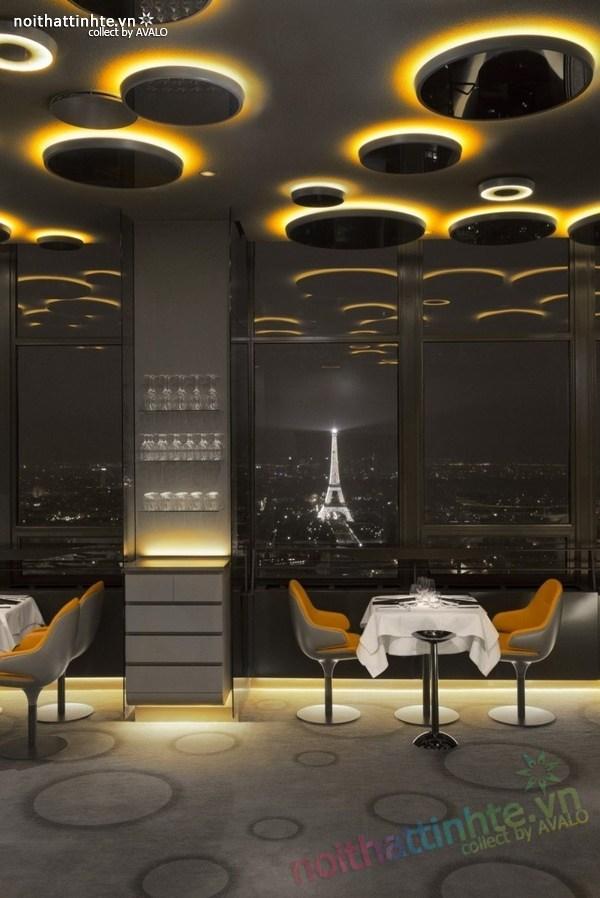 Thiết kế nhà hàng đẹp Ciel de Paris 10