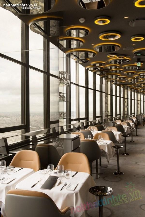 Thiết kế nhà hàng đẹp Ciel de Paris 04