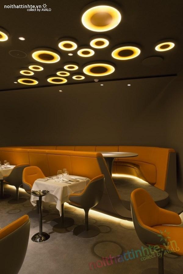 Thiết kế nhà hàng đẹp Ciel de Paris 06