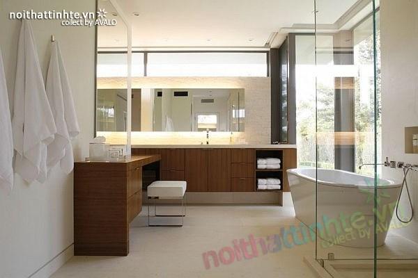 Thiết kế nhà đẹp 2 tầng hiện đại Brentwood Residence 10