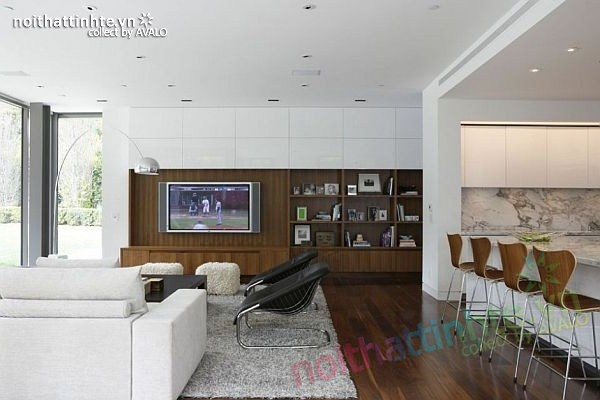 Thiết kế nhà đẹp 2 tầng hiện đại Brentwood Residence 02