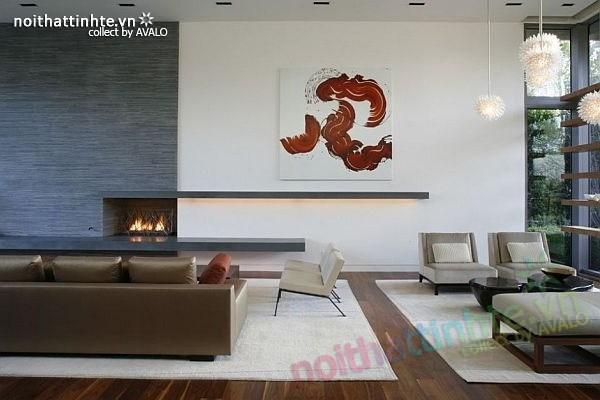 Thiết kế nhà đẹp 2 tầng hiện đại Brentwood Residence 04