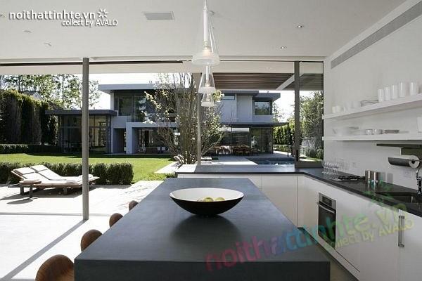 Thiết kế nhà đẹp 2 tầng hiện đại Brentwood Residence 06