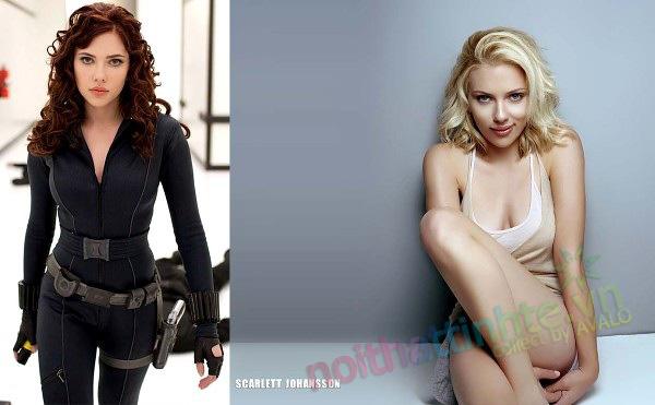 Nhà người đẹp nổi tiếng Scarlett Johansson's 01