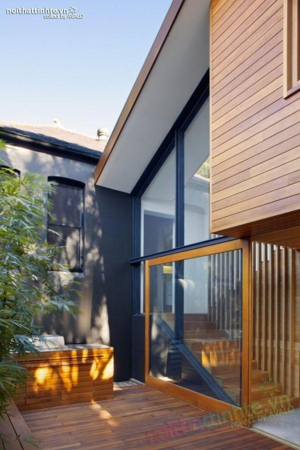 Thiết kế nhà đẹp 2 tầng ở Queen Park 02
