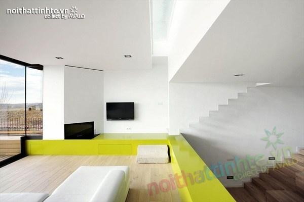 Mẫu nhà đẹp 3 tầng hiện đại ở Girona - Tây Ban Nha 02