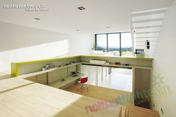 Mẫu nhà đẹp 3 tầng hiện đại ở Girona - Tây Ban Nha 03