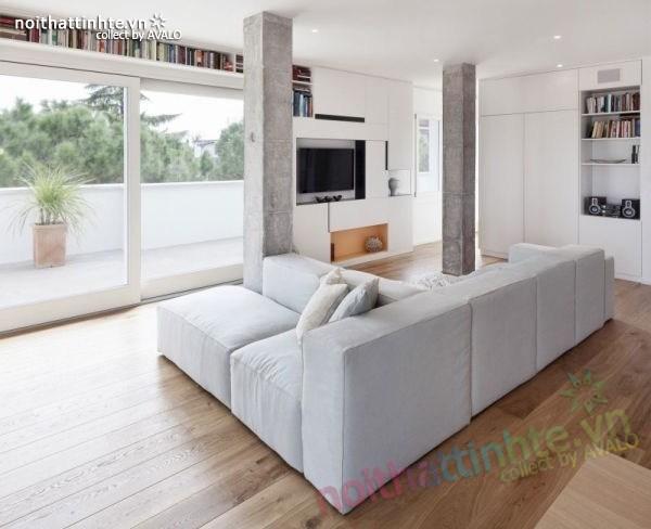 Thiết kế chung cư hiện đại bằng gỗ ở Ý 01