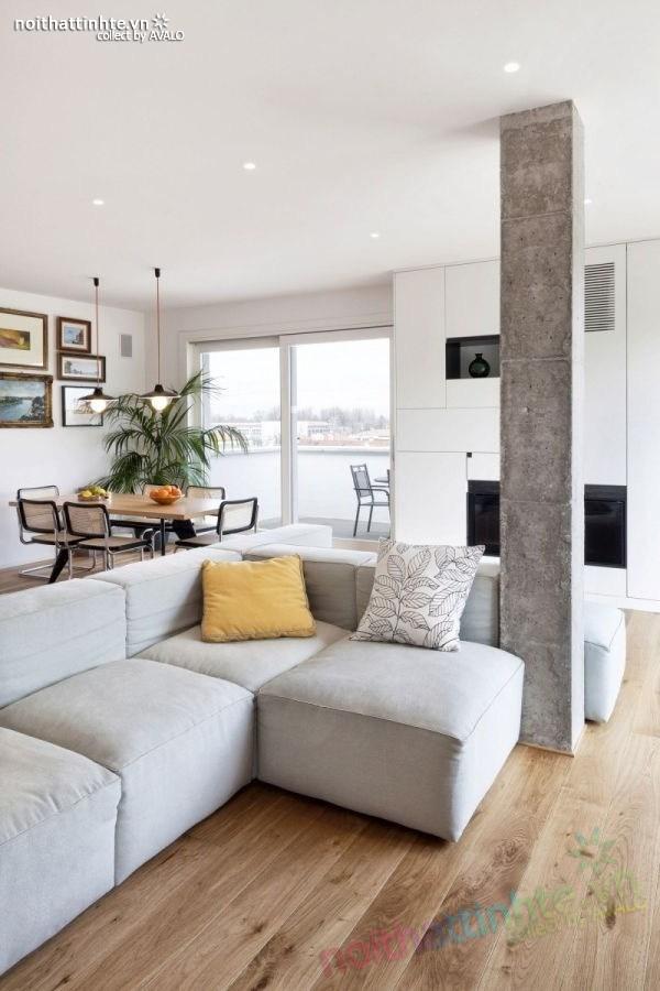 Thiết kế chung cư hiện đại bằng gỗ ở Ý 02