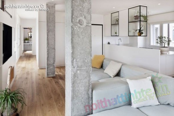 Thiết kế chung cư hiện đại bằng gỗ ở Ý 04