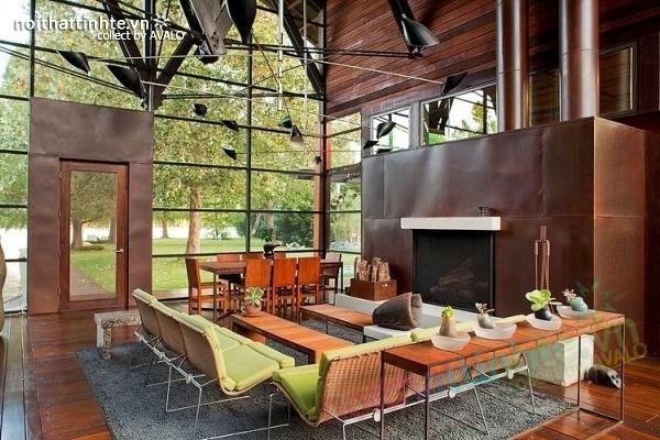 Thiết kế ngôi nhà vườn đẹp The Lake Austin 01