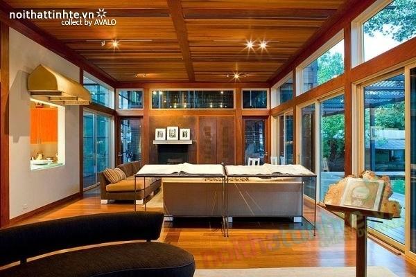 Thiết kế ngôi nhà vườn đẹp The Lake Austin 03