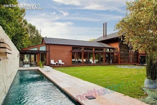 Thiết kế ngôi nhà vườn đẹp The Lake Austin 06