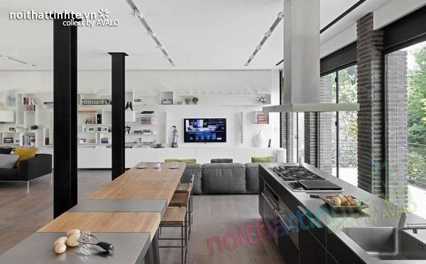 Thiết kế nhà đẹp với nhiều nét kiến trúc hấp dẫn 11