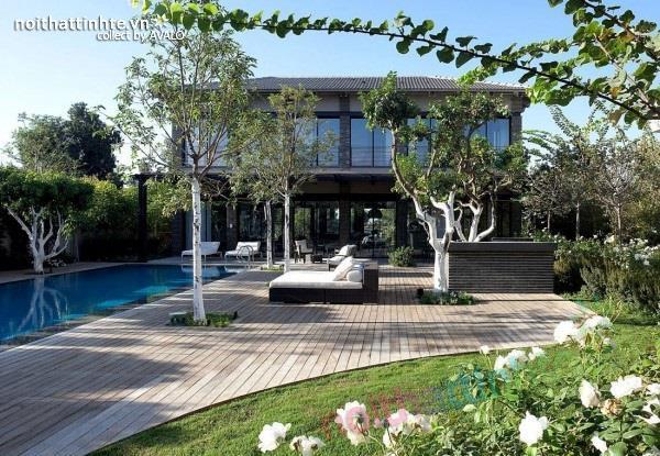 Thiết kế nhà đẹp với nhiều nét kiến trúc hấp dẫn 01