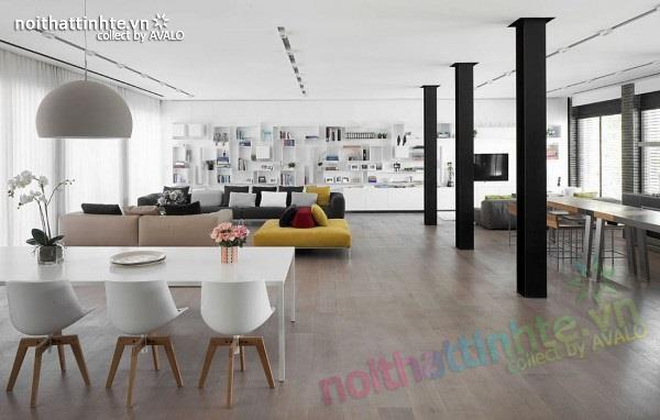 Thiết kế nhà đẹp với nhiều nét kiến trúc hấp dẫn 03