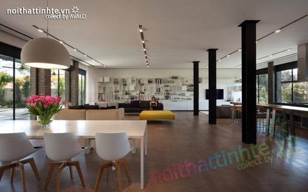 Thiết kế nhà đẹp với nhiều nét kiến trúc hấp dẫn 05