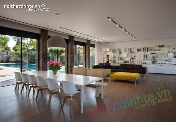 Thiết kế nhà đẹp với nhiều nét kiến trúc hấp dẫn 06