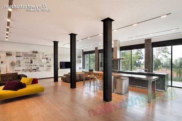 Thiết kế nhà đẹp với nhiều nét kiến trúc hấp dẫn 07